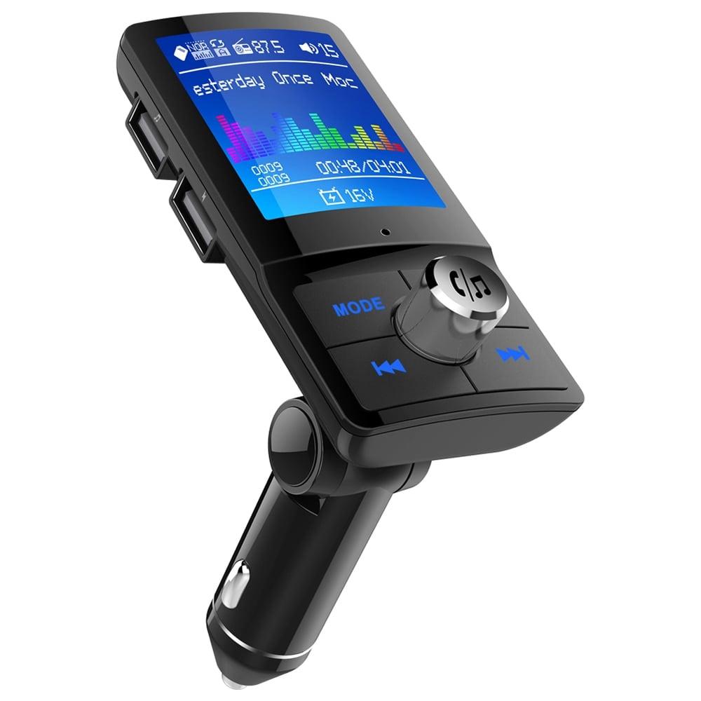 משדר fm מקצועי לרכב דגם 180 של חברת onever עם דיבורית+ושמיעת מוזיקה+הטענת ניידים+בלוטוס