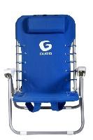 Guro כיסא פלדה מתקפל - כחול