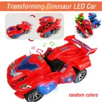 מכונית דינוזאור LED