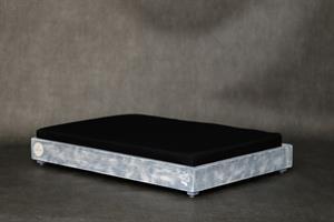 מיטות- דינה L אפור בטון
