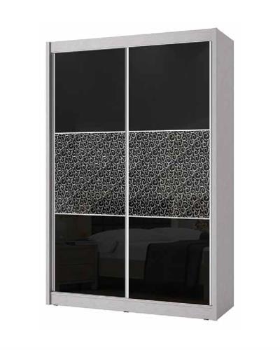 ארון הזזה 2 דלתות קרולינה