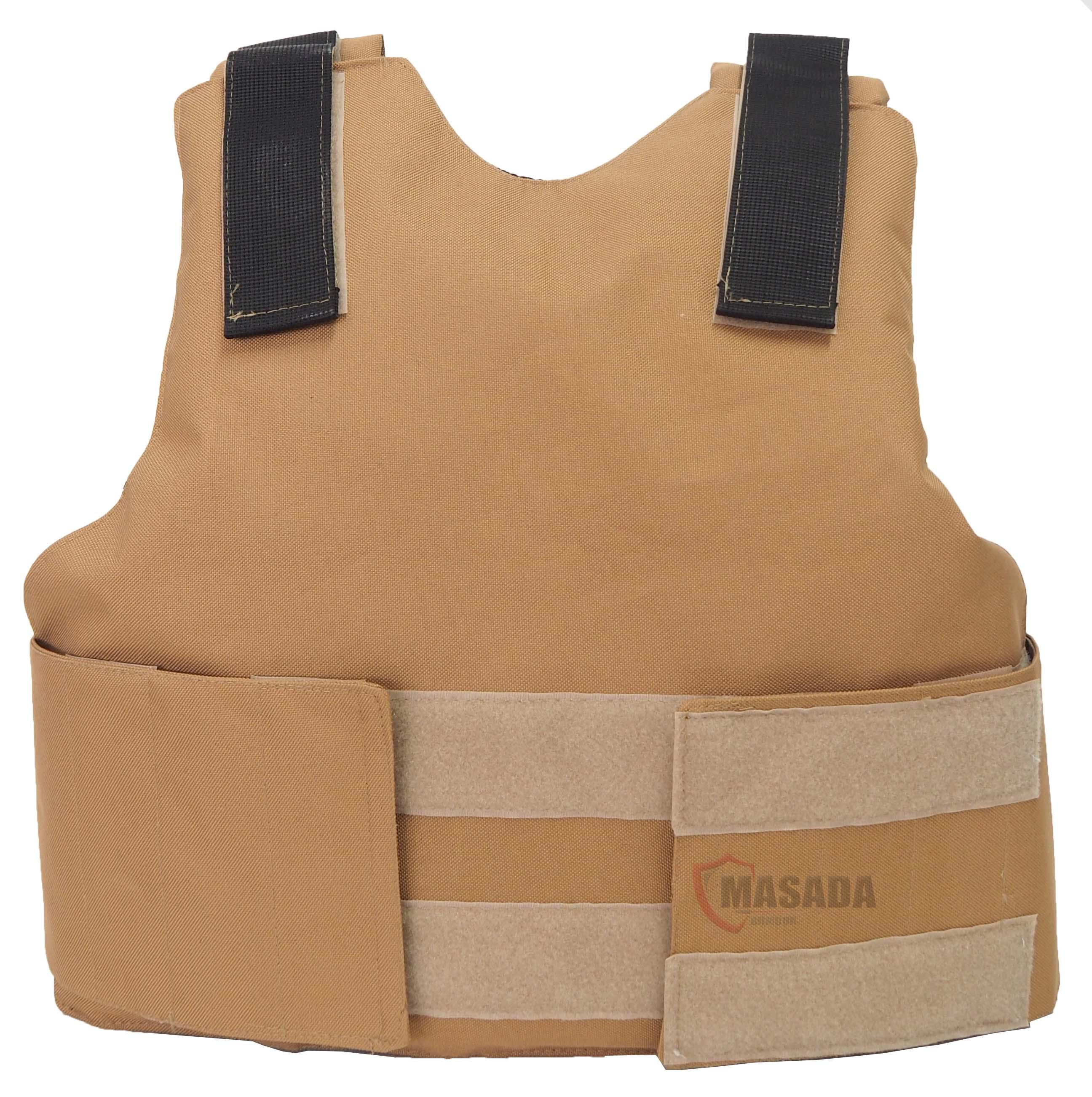 Civilian bulletproof vest/ Vip vest brown IIA/IIIA