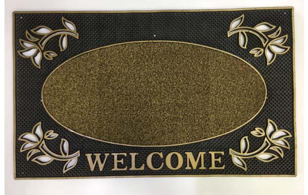שטיח כניסה לבית welcome מעוצב- אליפסה