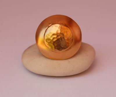 טבעת זריחת השמש- זהב