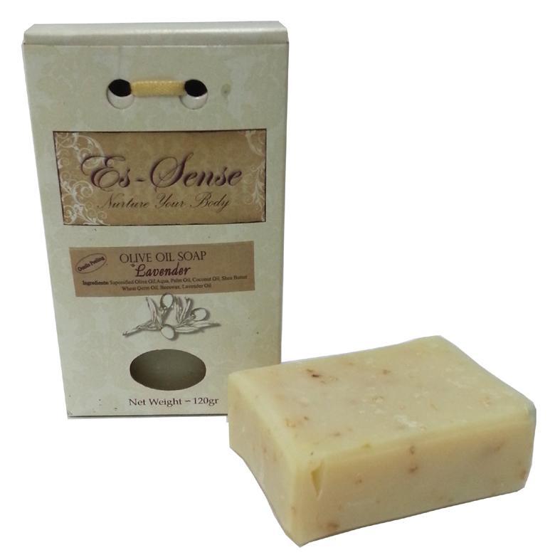 סבון שמן זית פילינג-לבנדר