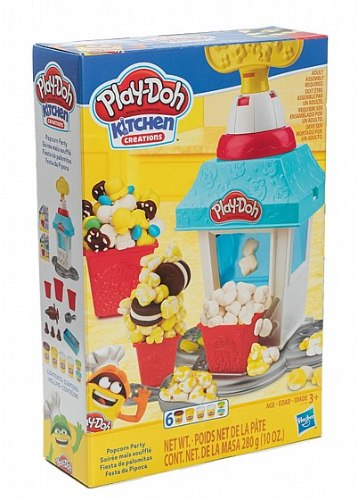 Play-doh מסיבת פופקורן
