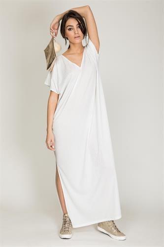 שמלת סנד לבן