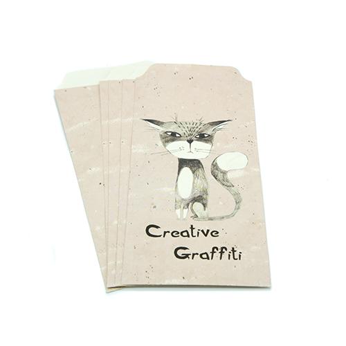 מעטפות נייר - כלב, חתול ושועל