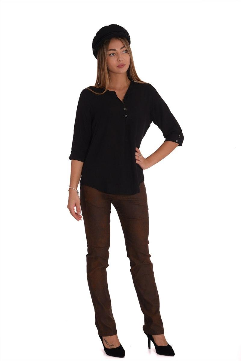 חולצה אניטה שחור