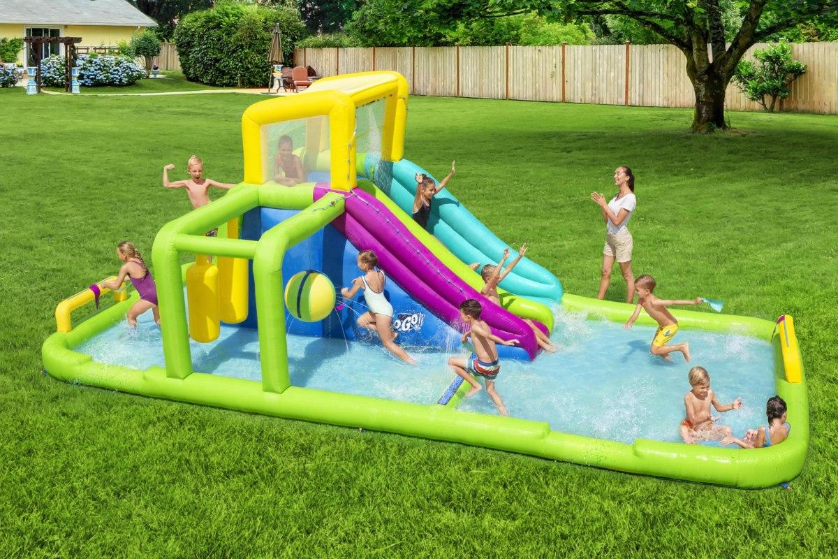 מתקן קפיצה מתנפח פארק מים מגרש המשחקים בסטוואיי BESTWAY 53387 - קפיץ קפוץ