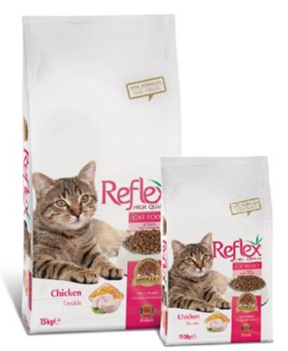 """ריפלקס עוף לחתול בוגר 1.5 ק""""ג"""
