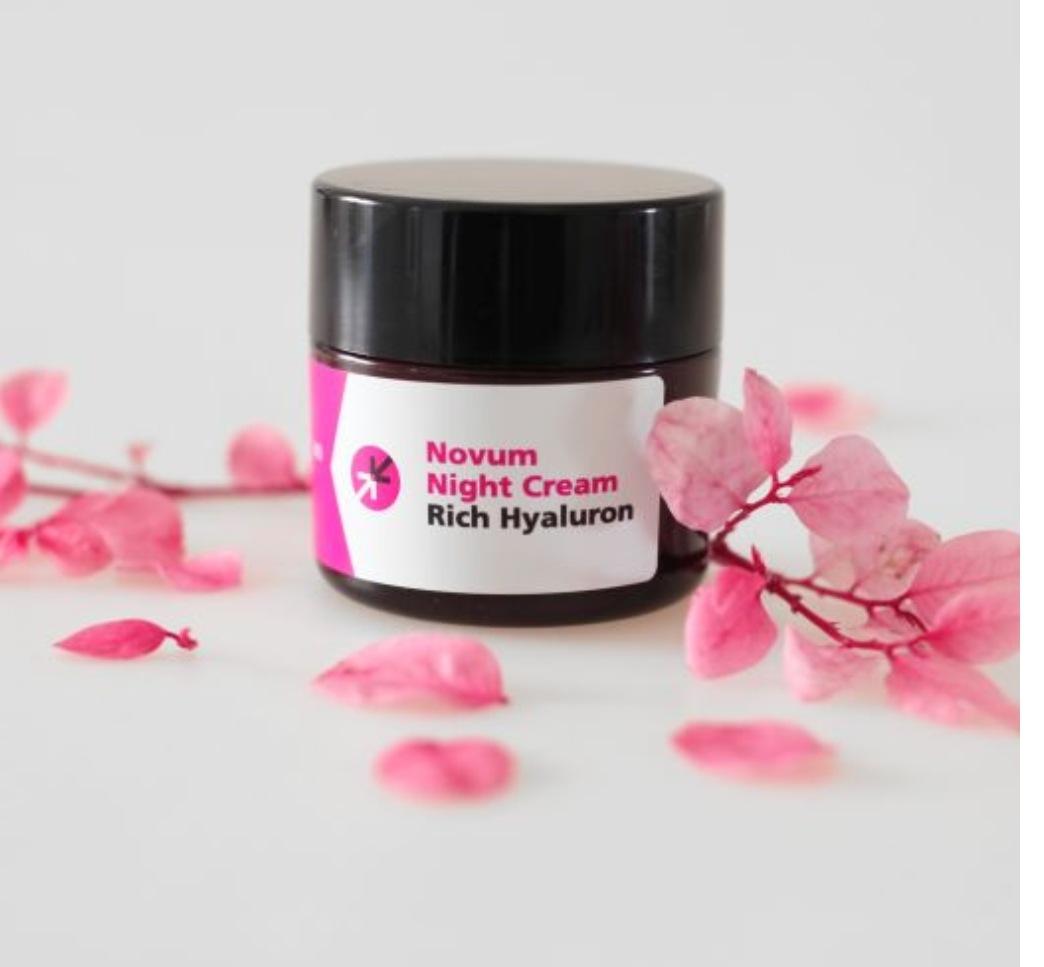 קרם לילה Novum Night Cream של Biopeptix