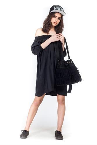 שמלת אלבינה שחורה
