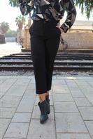 מכנס מנואל שחור