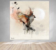 תמונה גדולה של ציפור