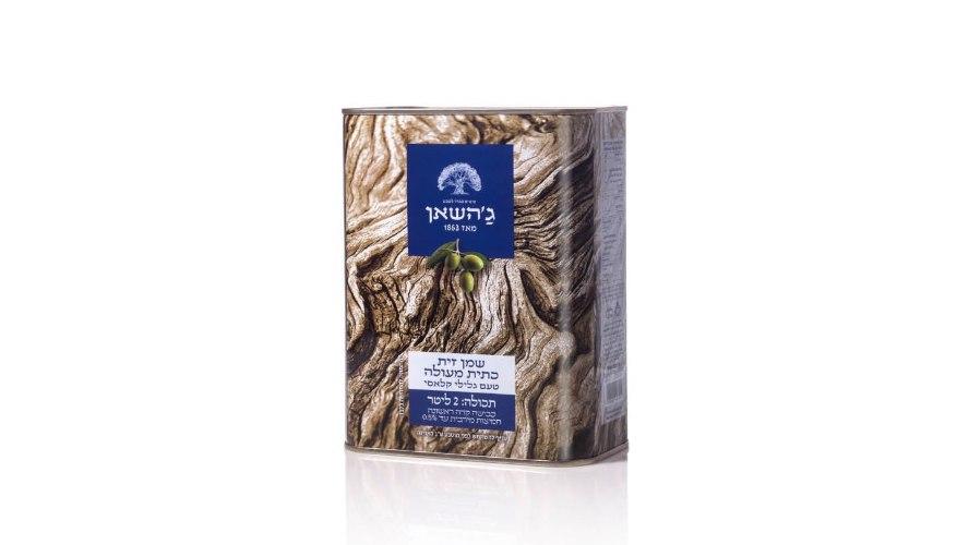 שמן זית כתית מעולה ״ג׳השאן״ 2 ליטר