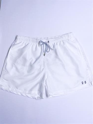 בגד ים בצבע לבן לגברים