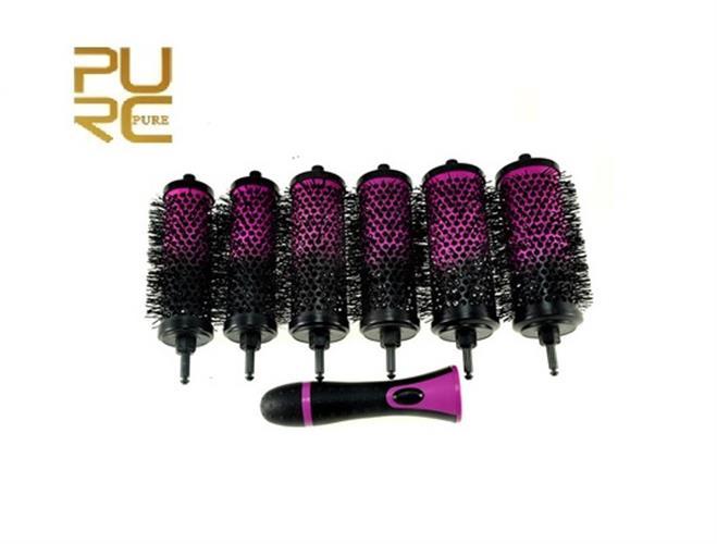 מברשת מתפרקת לייבוש השיער וליצירת תלתלים בקלות וללא מאמץ!