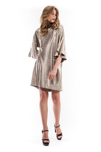 שמלת לורה זהב לורקס