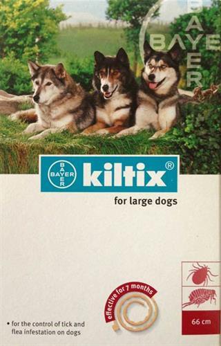 """קולר קילטיקס לארג' לכלב (מעל 20 ק""""ג)"""