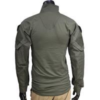 חולצה טקטית מדי לחימה  צבע ירוק זית דגם מתקדם