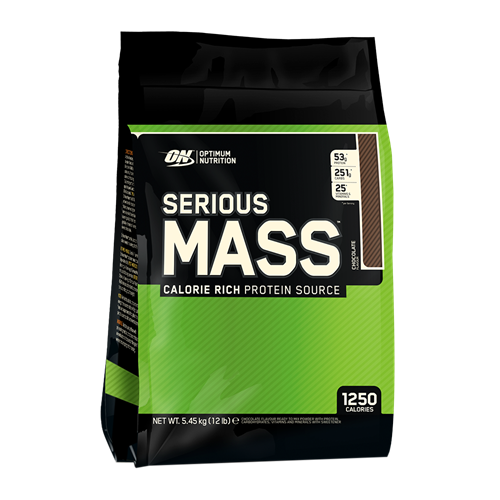 "סיריוס מאס 5.5 ק""ג - Optimum Nutrition Serious Mass - אופטימום נוטרישן"