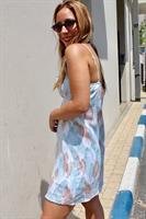 שמלת גל כחולה