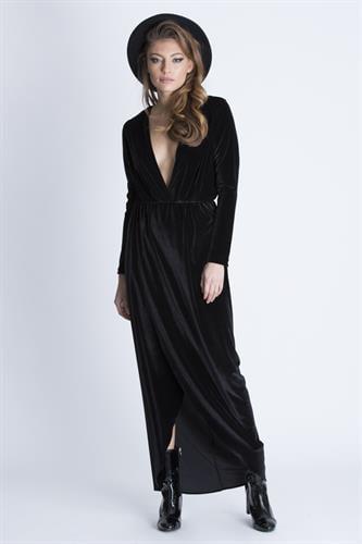 שמלת ברברה שחורה