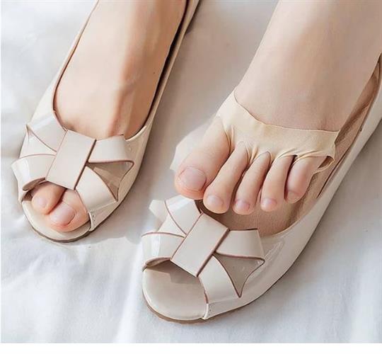 זוג רפידות לנעליים מבוססות ג'ל