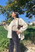 ג׳קט/ חולצת אינדיאנה קורדרוי