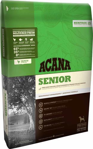 "acana senior סניור 2 ק""ג"