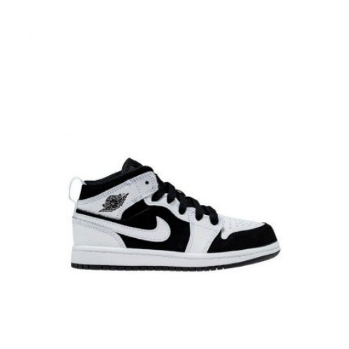 Nike Kids Air Jordan 1 Mid White Black