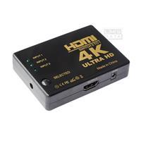 מפצל HDMI לחיבור 3 יציאות HDMI שונות למסך 1 מבית LMS DATA