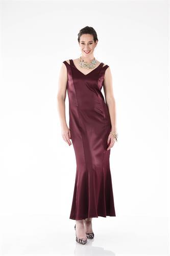 שמלה מקסי ולנסיה