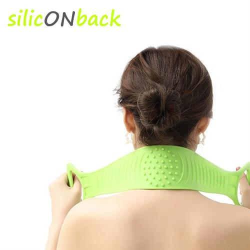 חגורת סיליקון לניקוי ועיסוי הגב- silicONback