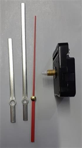 מנגנון לשעון קיר הברגה 10 ממ מחוג 130 ממ