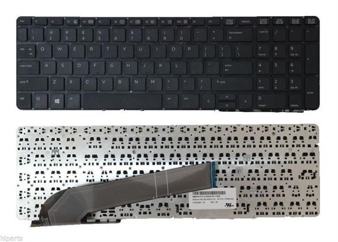 מקלדת למחשב נייד HP ProBook 450 G0 455 G1 470 G1 Keyboard