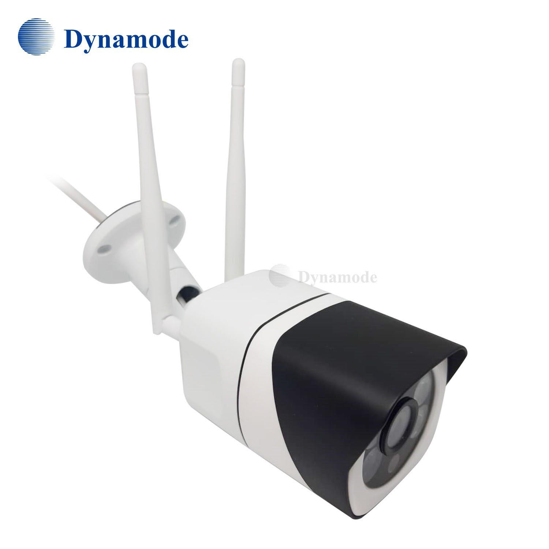 מצלמת IP אלחוטית חיצונית 1080P , התקנה מהירה, ראיית לילה, 2 אנטנות Dynamode מצלמה אלחוטית