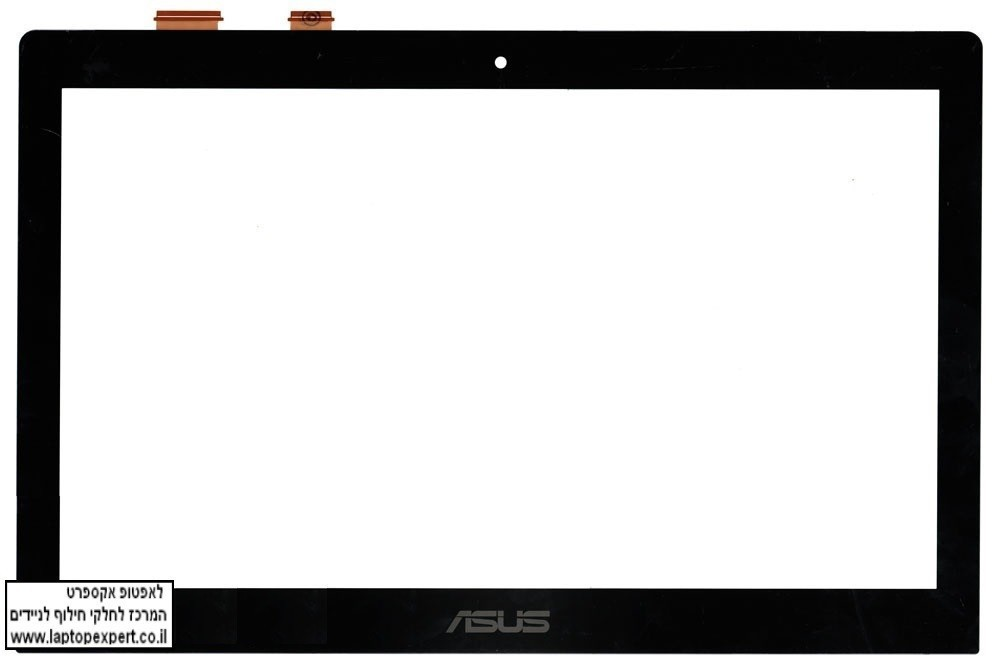 מסך טא'צ דיגיטייזר להחלפה במחשב נייד אסוס Asus Touch screen S500 N550 Q550 Q501 Digitizer - JA-DA5357SA