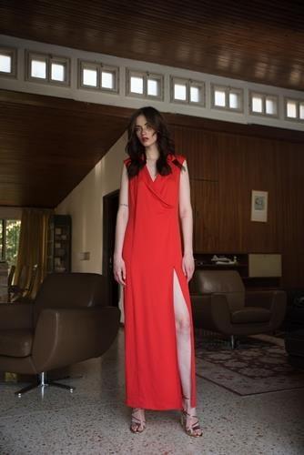 שמלת אליסייה אדומה