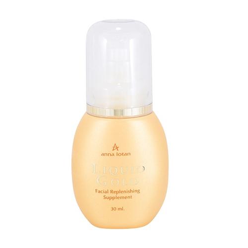 אנה לוטן סדרת הזהב טיפות זהב (שמן אבליפיכה) - Anna Lotan Liquid Gold Facial Replenishing Supplement
