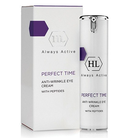 קרם עיניים לטשטוש קמטים מסדרת פרפקט טיים - Holy Land Perfect Time Anti Wrinkle Eye Cream