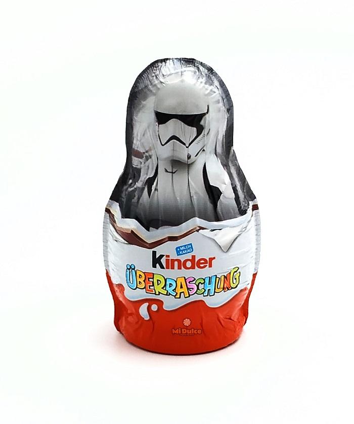 בובת שוקולד הפתעה Kinder Star Wars