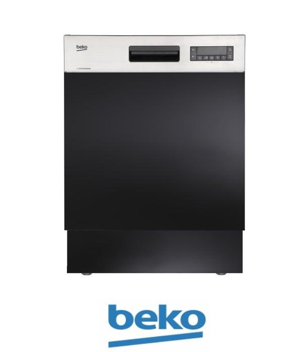 beko מדיח כלים רחב חצי אינטגראלי DSN28422X