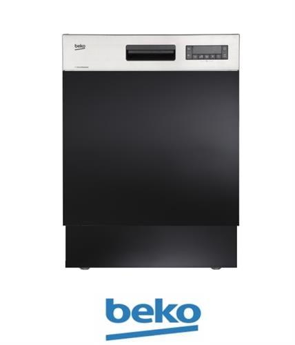 beko מדיח כלים רחב חצי אינטגראלי DSN-28422X מתצוגה !