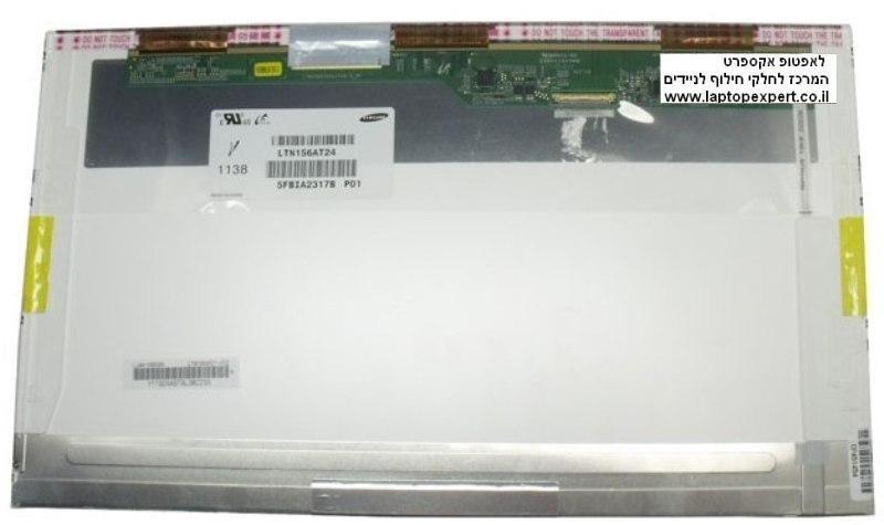 החלפת מסך למחשב נייד Samsung LTN156AT24 1366X768 LED 40pin glossy