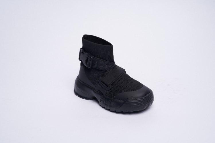 מגפי גרב שחורות FILA יוניסקס - מידות 30-37