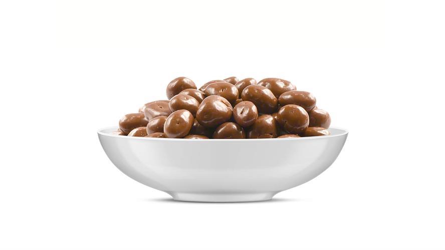 צימוקים בציפוי שוקולד חלב 100 גרם