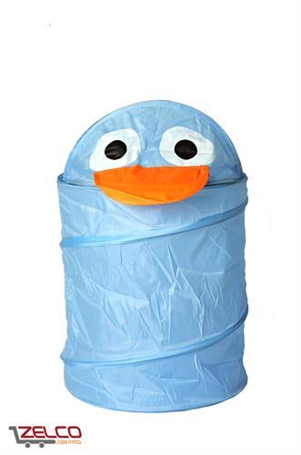 סל אחסון גמיש - דגם ברווז כחול