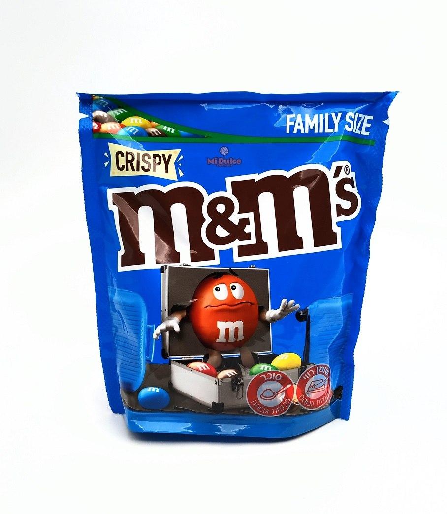 M&M קריספי מארז משפחתי!